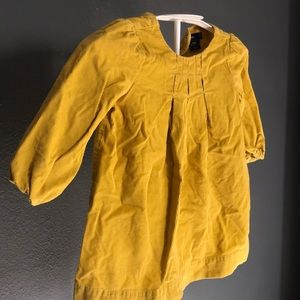 GAP Dresses - Gap | Toddler yellow gold corduroy dress